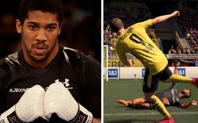 Ve hře FIFA 21 si zahrají i boxer Anthony Joshua či DJ a producent Diplo