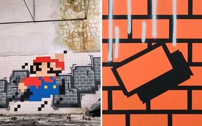 Vo Footshope vznikne fascinujúca vernisáž graffiti a obrazov plných tehiel. 29-ročný umelec Filip je poriadne talentovaný