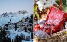 Vo švajčiarskom meste padal čokoládový sneh. Vo fabrike Lindt sa pokazila ventilácia