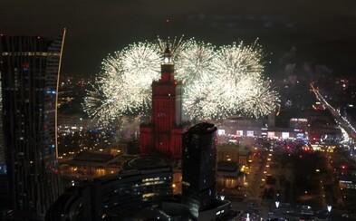 Ve Varšavě zakázali ohňostroj. Na Silvestra si lidé budou moci užít laserovou show