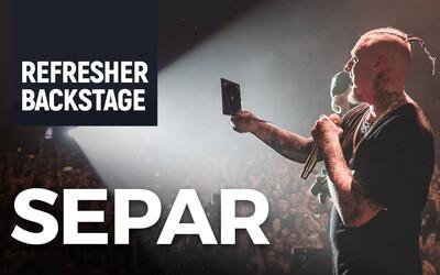 Vo vypredanej Hant Aréne na Separovom krste albumu Pancier sme v backstagei stretli polovicu slovenskej rapovej scény (Video)