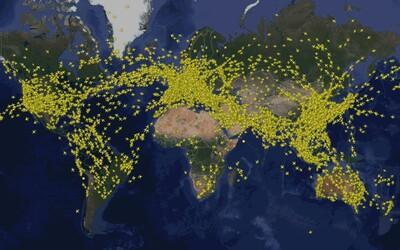 Vo vzduchu bolo naraz historicky najviac lietadiel. Počet letov sa z roka na rok zvyšuje