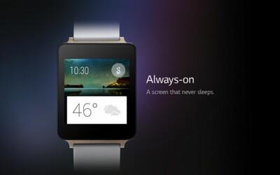 Vode a prachu odolné LG G Watch