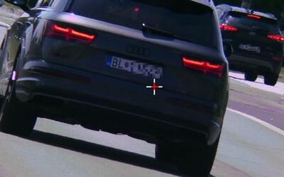 Vodič s Audi SQ7 v Bratislave prekročil rýchlosť o 70 kilometrov za hodinu