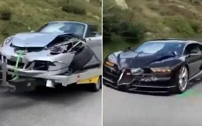 Vodiči luxusných áut chceli obehnúť karavan. Spôsobili autonehodu za viac ako 3 000 000 €