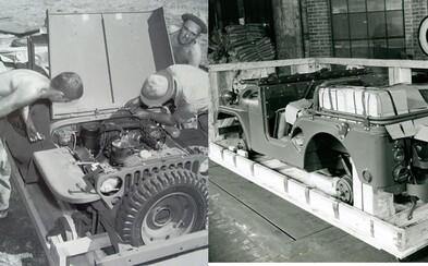 Vojaci si Jeepy skladali zo škatule. Preprava vozidiel v druhej svetovej vojne bola mimoriadne efektívna