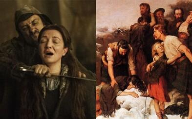Vojna ruží, masaker v Glencoe či Hadriánov val. Spoznaj priame historické paralely z Game of Thrones