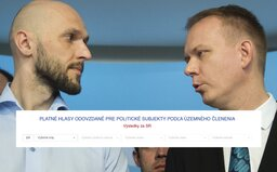 Voliči Progresívneho Slovenska hromadne tvrdia, že krúžkovali kandidátov, ktorí vo výsledkoch nemajú v okrsku žiadny krúžok