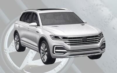 Volkswagen čelí opäť veľkému úniku. V značnom predstihu sa objavil kompletne odhalený budúcoročný Touareg!