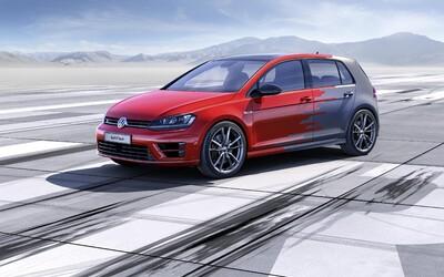 Volkswagen Golf R Touch: trojica rozmerných displejov a ovládanie gestami