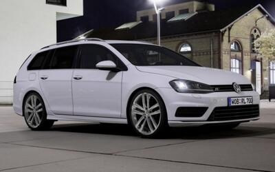 Volkswagen Golf Variant a Scirocco dostali R-line paket