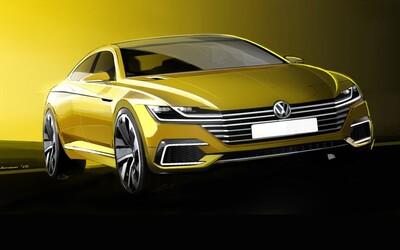 Volkswagen predznamenáva podobu novej generácie štýlového štvordverového kupé CC
