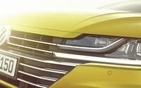 Volkswagen v Ženevě vytáhne eso z rukávu! Ochutnávkou jsou odhalené detaily úplně nového modelu Arteon