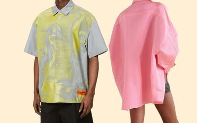 Volné košile z lehkých materiálů jsou žhavým trendem letošního léta. Po těchto kouscích se vyplatí sáhnout