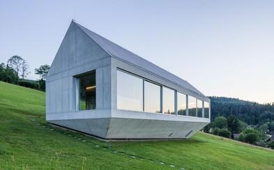Vůně lesa a architektonická moderna v jednom? I takové je bydlení na úpatí pahorků v Polsku