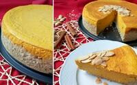 Voňavý tekvicový cheesecake so slušným množstvom bielkovín (Recept)