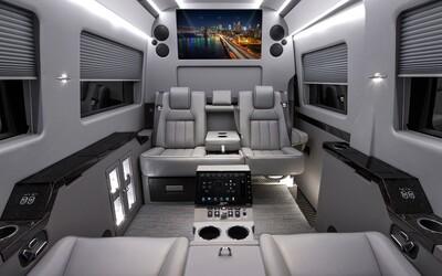 Vozidla upravená pro luxusní pojízdné kanceláře vlastní Eminem, Will Smith či Johnny Depp. Za jedno bys dal více než 250 tisíc dolarů