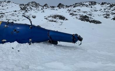 Vrak helikoptéry, v níž zemřel Kellner a další 4 lidé, už vyzvedly úřady. Na místo míří vyšetřovatelé