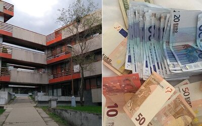 Vrátnik internátov na Mlynoch zarábal 2 000 €. Bratislavské vysokoškolské mestečko malo podvádzať s výplatami