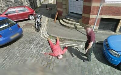 Vražda zachytená na Street View!