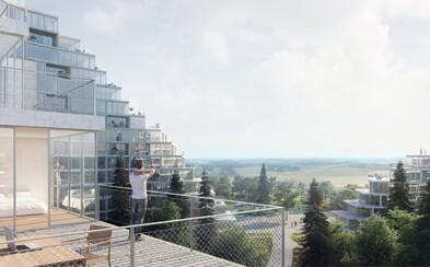 Vrcholce hôr v Bratislave alebo obytný komplex s nevídaným vzhľadom od dánskych architektov