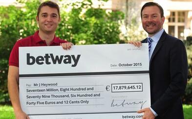 Vsadil jen 30 centů, vyhrál 18 milionů eur. Vojákovi jeho šťastná sázka změnila život