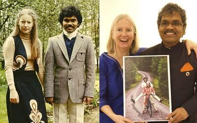 Všetko predal, kúpil si bicykel a kvôli láske prešiel 9500 kilometrov z Indie do Švédska. So svojou vyvolenou sa ľúbia už 40 rokov