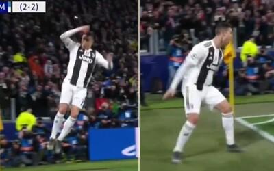 Všetkých 40-tisíc fanúšikov zborovo zakričalo SIIIIIU, keď Cristiano Ronaldo premenil penaltu proti Atléticu Madrid
