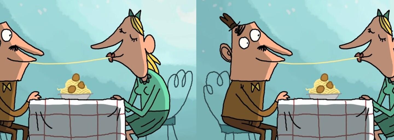 Vtipná a najmä vulgárna animácia ti ukáže, ako by malo vyzerať romantické rande. Jedenie špagiet si takto asi nepredstavuješ