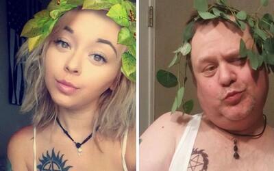 Vtipný otec sa pustil do prerábania odvážnych fotiek svojej dcéry. Chris dobre vie, čo na internete platí