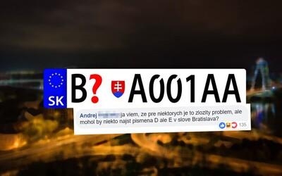 Výber nového EČV Bratislavy vyprovokoval slovenský internet. Na policajtoch sa ľudia smejú aj im nadávajú