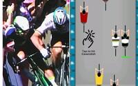 Vybi si zlosť z diskvalifikácie Peťa Sagana v chytľavej slovenskej hre. Ak budeš klikať dostatočne rýchlo, Mark Cavendish skončí na zemi