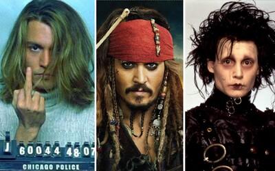 Vybrali sme 10 najlepších filmov Johnnyho Deppa. Niektoré vás zahrejú pri srdci, iné vám ho zlomia a pri niektorých sa zase kráľovsky zabavíte