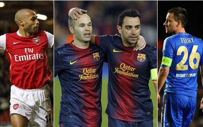 Vybrali sme najlepšiu futbalovú jedenástku za posledných desať rokov. Ktorí hráči sa do nej dostali?
