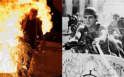 Výbuch lodě, pád na meč či smrt v plamenech aneb tragické nehody na place starých hollywoodských filmů