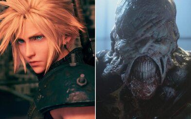 Vychází Final Fantasy VII a Resident Evil 3. Sleduj nové trailery k adeptům na nejlepší hry tohoto roku