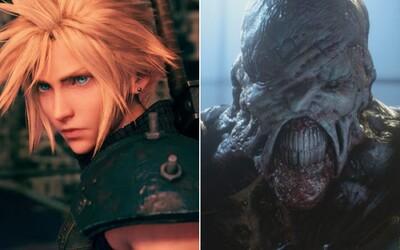 Vychádza Final Fantasy VII a Resident Evil 3. Sleduj nové trailery pre adeptov na najlepšie hry tohto roka