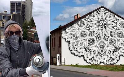 Vychutnaj si s nami romantickejšiu verziu street artu od poľskej umelkyne Nespoon