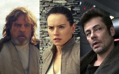Vychutnajte si takmer 60 obrázkov zo Star Wars: The Last Jedi a pripravte sa na ďalšie veľkolepé pokračovanie hlavnej ságy