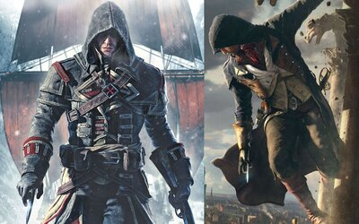 Vydanie Assassin's Creed Unity a Roque sa blíži. Čo nové o hrách vieme?