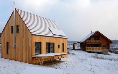 Výhľad na Kriváň a nízke náklady na bývanie. Aj to ponúka moderná stodola v hodnote 150-tisíc € na Liptove