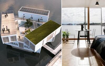 Výhled na moře a nádherný interiér. Internát plovoucí na vodě v dánské Kodani je snem asi každého studenta