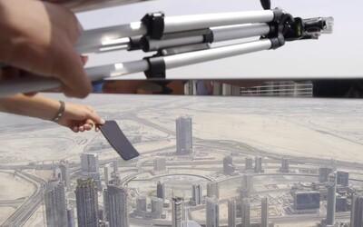 Vyhodil nejnovější iPhone 7 z nejvyšší budovy světa Burdž Chalífa. V Dubaji z tohoto chlapíka radost neměli