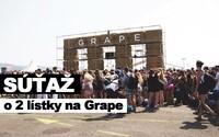 Vyhraj 2 lístky na Grape vďaka Refresheru!