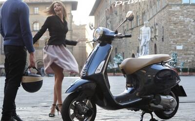 Vyhraj štýlový skúter Vespa Primavera