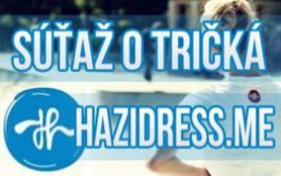 Vyhrajte tričká od mladej slovenskej značky hazidress.me