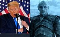 Vyhral som bitku o Winterfell, o veľa, vysmial sa Trumpovi Vladimír Furdík, ktorý si v Game of Thrones zahral Night Kinga