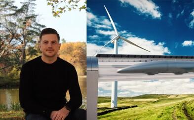 Vyhral súťaž Hyperloopu a tvrdí, že Slováci budú pri vzniku jednej z najväčších inovácií modernej histórie (Rozhovor)