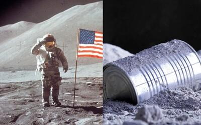 Výkaly, moč, tisíce dolarů či zvláštní obraz. Lidé byli na Měsíci jen párkrát, ale už tam stihli nechat 200 tun nepořádku