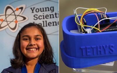 Vynález 11letého děvčátka zaujal celý svět. Její senzor ochrání lidi před kontaminovanou vodou